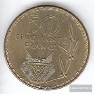 Rwanda 16 1977 Very Fine Brass Very Fine 1977 50 Francs Kaffeebaum - Rwanda