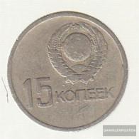 Soviet Union Km-number. : 137 1967 Very Fine Copper-Nickel-zinc Very Fine 1967 15 Kopeken Revolution - Russia