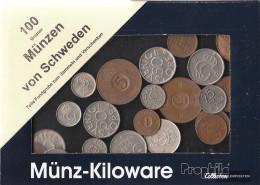Sweden 100 Grams Münzkiloware - Coins & Banknotes