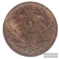 Switzerland Km-number. : 4 1943 Very Fine Zinc Very Fine 1943 2 Rappen Crest - Switzerland