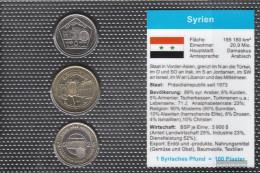 Syria 2003 Stgl./unzirkuliert Kursmünzen Stgl./unzirkuliert 2003 5 Piaster Until 25 Piaster - Syria