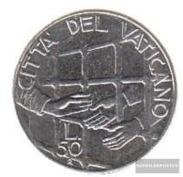 Vatikanstadt Km-number. : 254 1994 Stgl./unzirkuliert Steel Stgl./unzirkuliert 1994 50 Lire Prison - Vatican