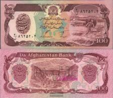 Afghanistan Pick-number: 58c Uncirculated 1991 100 Afghanis - Afghanistan