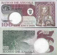 Angola Pick-number: 106 Uncirculated 1973 100 Escudos - Angola