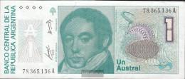 Argentina Pick-number: 323a Uncirculated 1985 1 Australian - Argentina