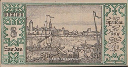 Berlin Notgeld: 92.1.8 Notgeld The City Berlin, District: 8.Spandau Uncirculated 1921 50 Pfennig Berlin - [11] Local Banknote Issues