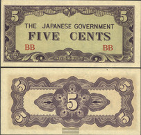 Birma Pick-number: 10a Uncirculated 1942 5 Cents - Myanmar