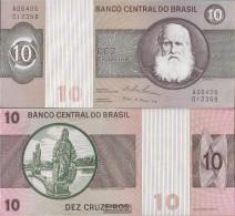 Brazil Pick-number: 193b Uncirculated 1974 10 Cruzeiros - Brazil