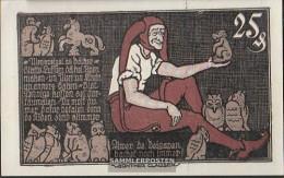 Brunswick (Lokalausg.) Notgeld: 155.1 25 Pf Notgeld The Braunschweigische Staatsbank Uncirculated 1921 25 Pfennig Brunsw - [11] Local Banknote Issues
