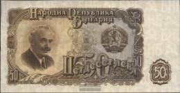 Bulgaria Pick-number: 85a Uncirculated 1951 50 Leva - Bulgaria