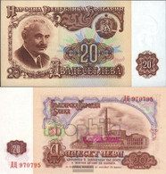 Bulgaria Pick-number: 97a Uncirculated 1974 20 Leva - Bulgaria