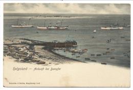 ///  CPA - Allemagne - HELGOLAND - HELIGOLAND - Ankunft Der Dampfer   // - Helgoland