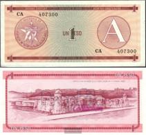 Cuba Pick-number: FX1 Uncirculated 1985 1 Peso - Cuba