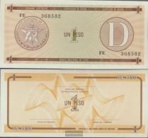 Cuba Pick-number: FX32 Uncirculated 1985 1 Peso - Cuba