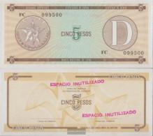 Cuba Pick-number: FX34 Uncirculated 1985 5 Pesos - Cuba