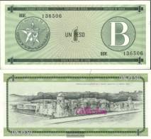 Cuba Pick-number: FX6 Uncirculated 1985 1 Peso - Cuba