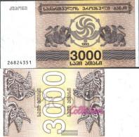 Georgia 45 Uncirculated 1993 3.000 Laris - Géorgie
