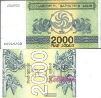 Georgia Pick-number: 44 Uncirculated 1993 2.000 Laris - Géorgie