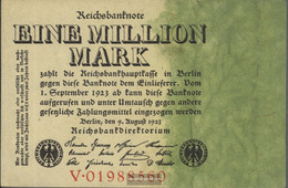 German Empire RosbgNr: 100 Uncirculated 1923 1 Million Mark - [ 3] 1918-1933 : Weimar Republic