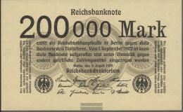 German Empire RosbgNr: 99b Without Firmenzeichen Uncirculated 1923 200000 Mark - [ 3] 1918-1933 : Weimar Republic