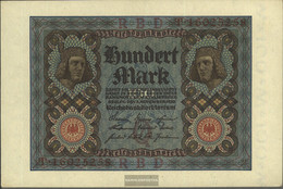 German Empire Rosenbg: 67b, 8stellige Kontrollnummer Uncirculated 1920 100 Mark - [ 3] 1918-1933 : Weimar Republic