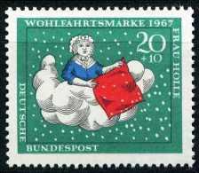 A10-18-3) BRD - Michel 539 - ** Postfrisch - 20+10Pf Frau Holle, Wohlfahrt 67 - Unused Stamps