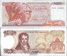 Greece Pick-number: 200b Uncirculated 1978 100 Drachmai - Greece