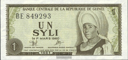 Guinea Pick-number: 20a Uncirculated 1981 1 Syli - Guinea