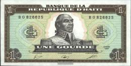 Haiti Pick-number: 245a Uncirculated 1987 1 Gourde - Haiti