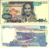 Indonesia Pick-number: 119 Uncirculated 1980 1.000 Rupiah - Indonesia