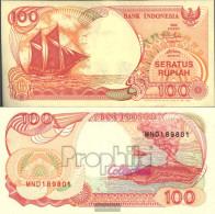 Indonesia Pick-number: 127d Uncirculated 1995 100 Rupiah Sail - Indonesia