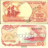 Indonesia Pick-number: 127e Uncirculated 1996 100 Rupiah Sail - Indonesia