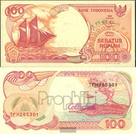 Indonesia Pick-number: 127g Uncirculated 1999 100 Rupiah Sail - Indonesia