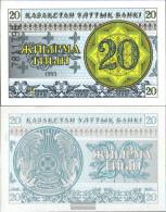 Kazakhstan Pick-number: 5b Uncirculated 1993 20 Tyin - Kazakhstan