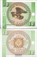 Kirgisistan Pick.number: 2 Uncirculated 1993 10 Tyiyn Adler - Kyrgyzstan