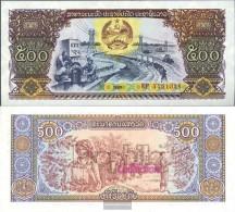 Laos Pick-number: 31a Uncirculated 1988 500 Kip - Laos