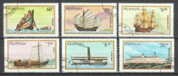 Philipines 1984 Mi 1629-1634 SHIPS (B) - Boten