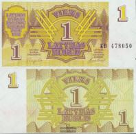 Latvia 35 Uncirculated 1992 1 Rublis - Latvia