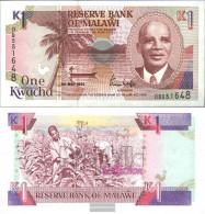 Malawi 23b Uncirculated 1992 1 Kwacha - Malawi