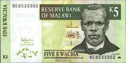 Malawi Pick-number: 36c Uncirculated 2005 5 Kwacha - Malawi