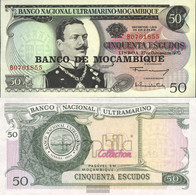 Mosambik Pick-number: 116 Uncirculated 1976 50 Escudos - Mozambique