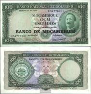 Mosambik Pick-number: 117a Uncirculated 1976 100 Escudos - Mozambique