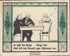 Mülsen-St. Jacob Notgeld: 906. Notgeld The City Mülsen-St. Jakob, Picture Number. 7 Uncirculated 1921 50 Pfennig - [11] Local Banknote Issues