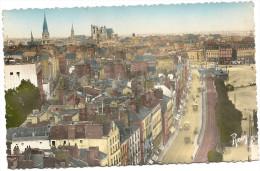 44 NANTES    VUE  GENERALE  PRISE  DU  PONT  TRANSBORDEUR (Comblement De La Loire A  Droite  ) - Nantes
