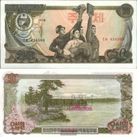 North-Korea Pick-number: 21a Uncirculated 1978 50 Won - Korea, North