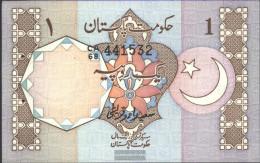 Pakistan Pick-number: 27e Uncirculated 1983 1 Rupee - Pakistan