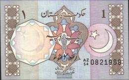Pakistan Pick-number: 27h Uncirculated 1983 1 Rupee - Pakistan