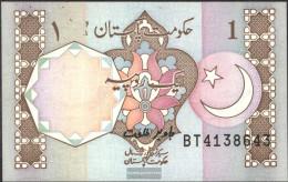 Pakistan Pick-number: 27l Uncirculated 1983 1 Rupee - Pakistan