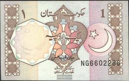 Pakistan Pick-number: 27m Uncirculated 1983 1 Rupee - Pakistan