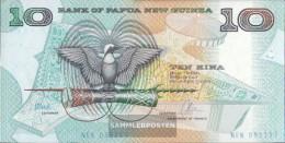 Papua-Guinea Pick-number: 9d Uncirculated 1988 10 Kina - Papua Nuova Guinea